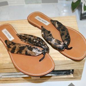 Steven madden animal print sandals